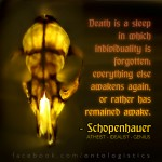 schopenhauer death life dream