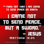 jesus christs sword peace
