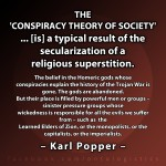 karl popper conspiracy theory gods religious homer elders zion imperialists capitalism socialism marxism