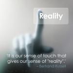 bertrand russell epistemology veridical reality touch tactile tactual dmt elves