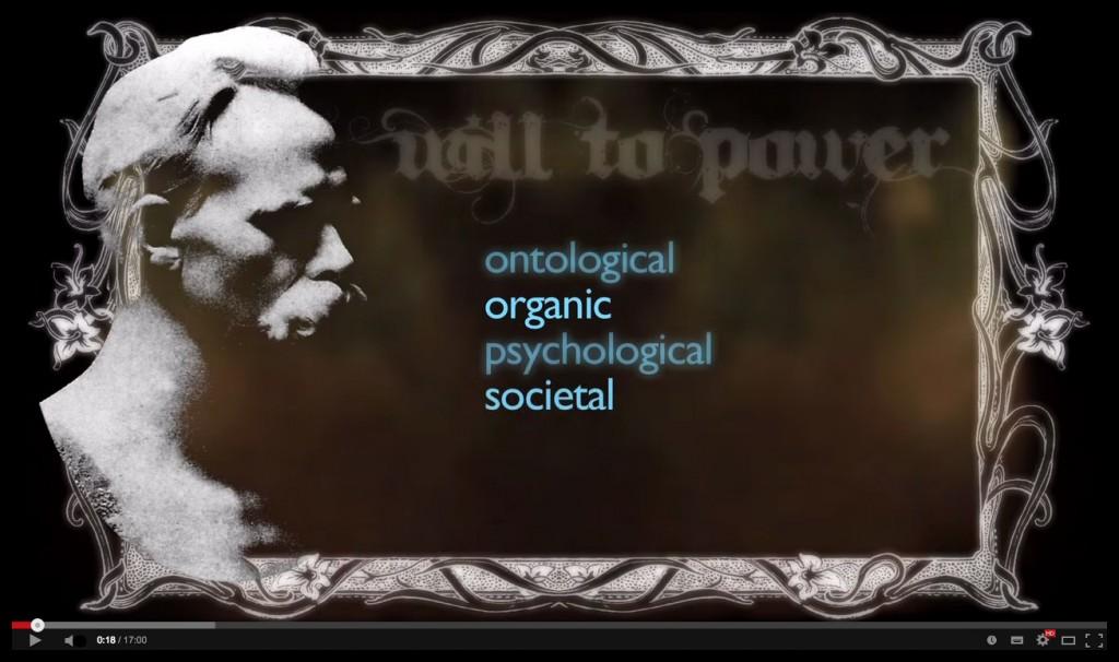 nietzsche will t opower wille zur macht kraft metaphysics cosmological epistemological