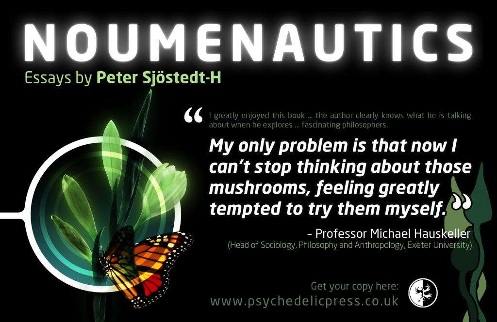 Noumenautics Peter Sjostedt-H Sjöstedt-H philosophy metaphysics meta-ethics neo nihilism psychedelics psilocybin DMT LSD shrooms philosopher Whitehead Nietzsche Bergson Schopenhauer Kant phenomenology