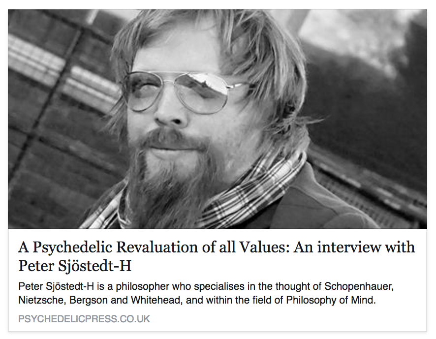 A Psychedelic Revaluation of All Values – interview may 2016