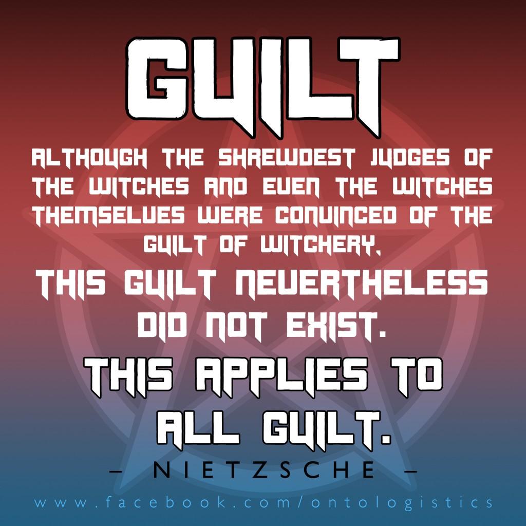 Nietzsche – Guilt – Peter Sjöstedt-H